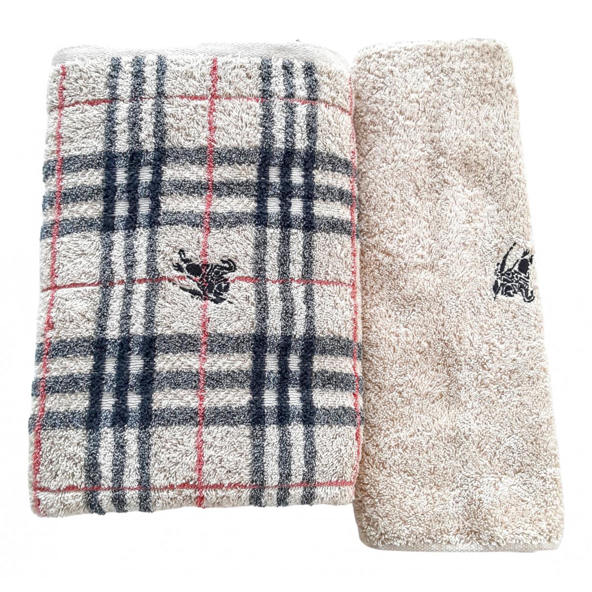 Burberry - Linge de maison   pour lifestyle en laine - beige