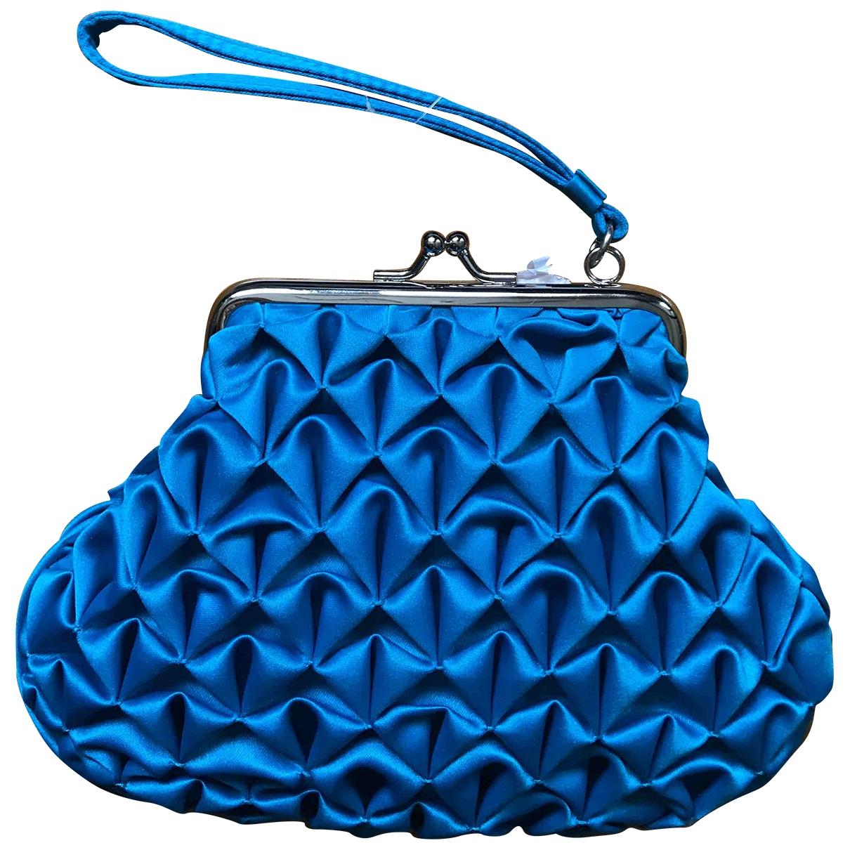 Bolsos clutch en Poliester Azul Moschino Love