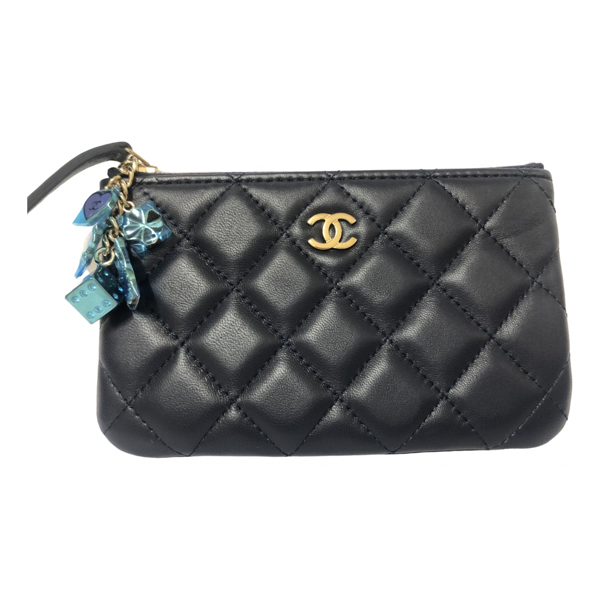 Chanel Timeless/Classique Blue Leather Purses, wallet & cases for Women \N