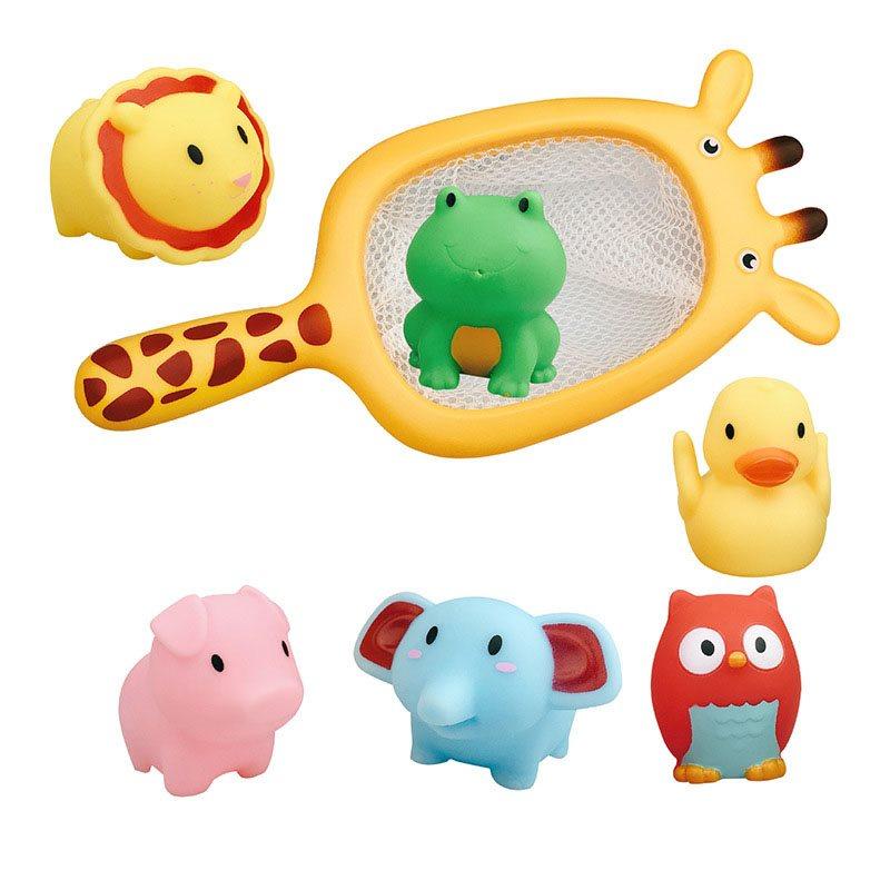 Cartoon Spoon Net Machine Kids Bath Toys Creative Gifts