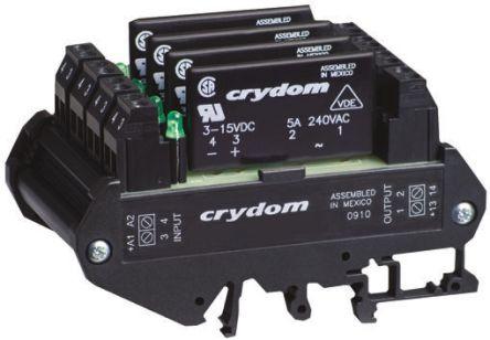Sensata / Crydom 5 A rms Solid State Relay, Zero Cross, DIN Rail, 280 V Maximum Load