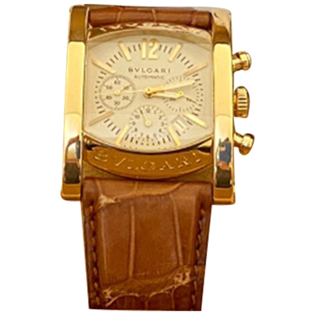 Bvlgari Assioma Yellow Yellow gold watch for Men N
