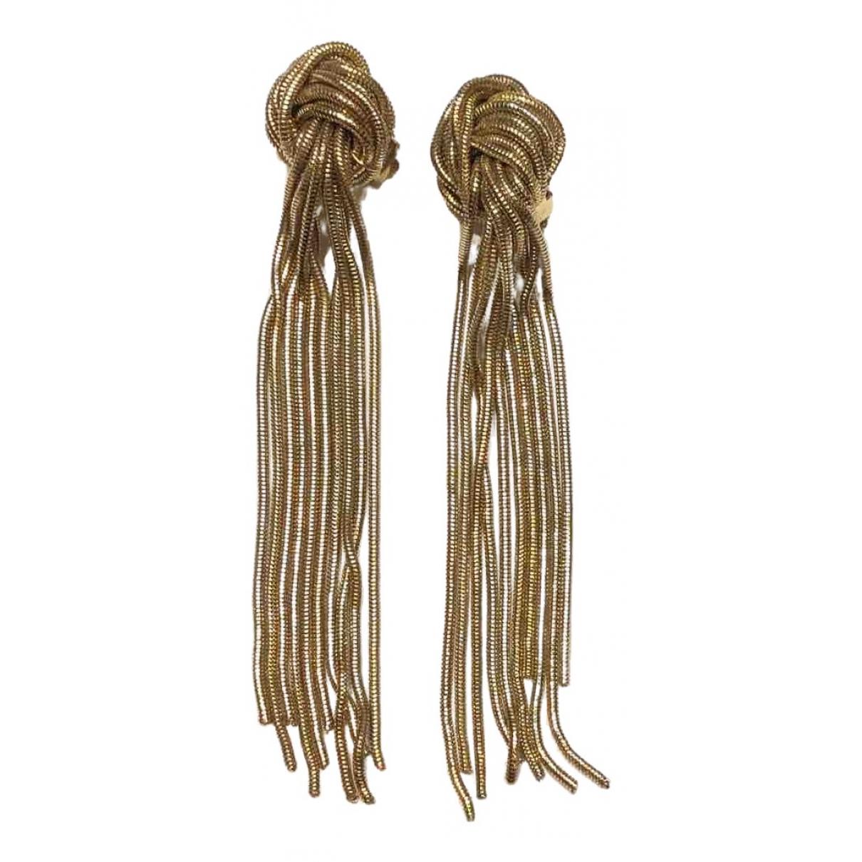 Rosantica - Boucles doreilles   pour femme en metal - dore