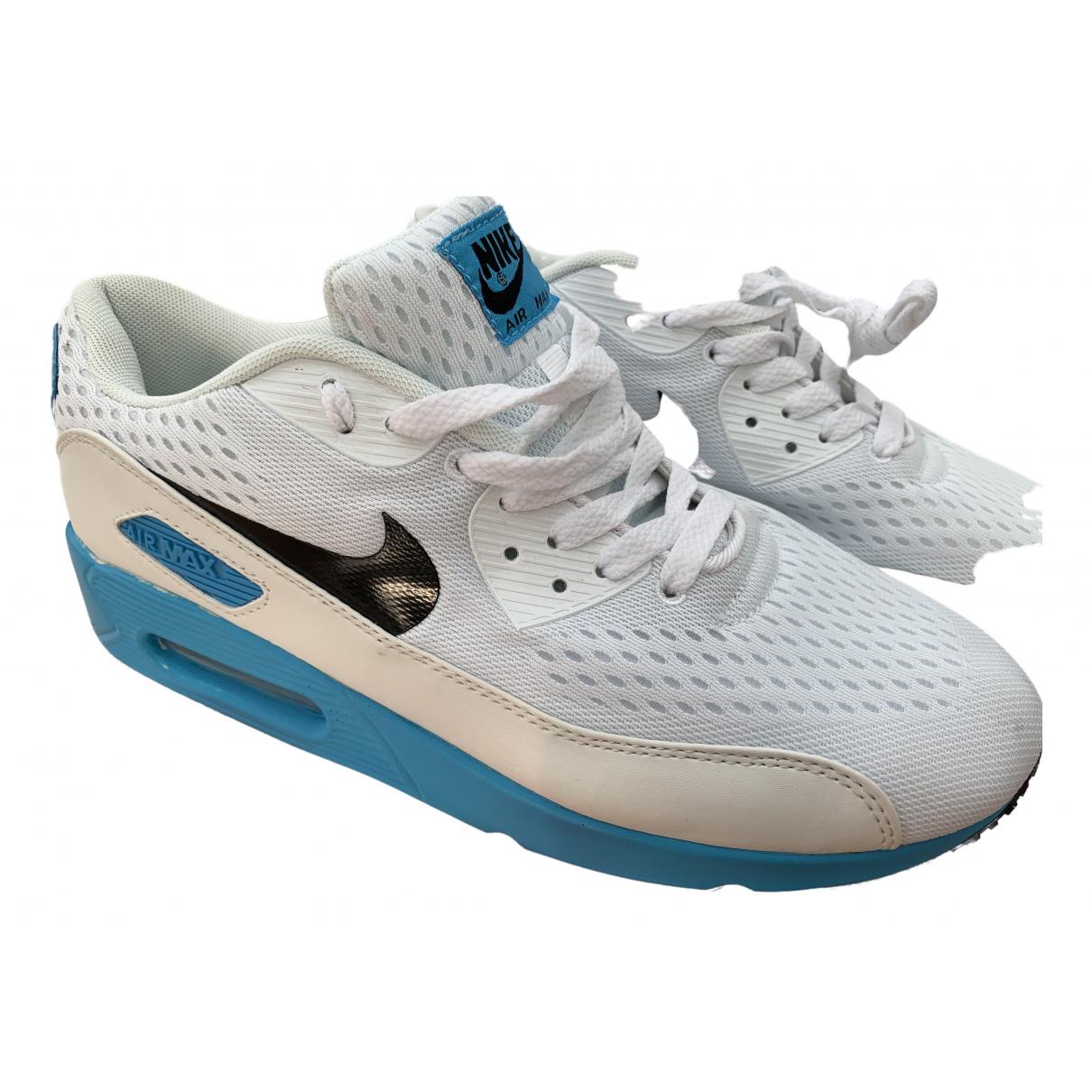 Nike Air Max 90 White Cloth Trainers for Men 46 EU