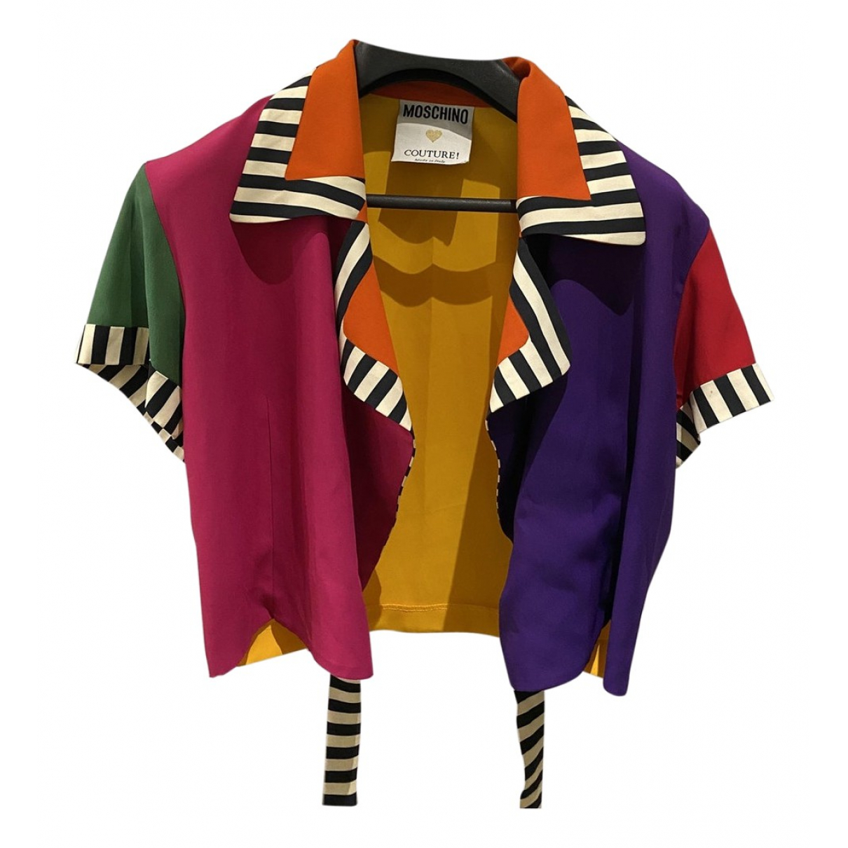Moschino - Top   pour femme - multicolore