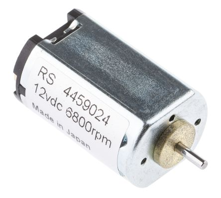 Canon Brushed DC Motor, 1.3 W, 12 V dc, 2.45 mNm, 5400 rpm, 2mm Shaft Diameter