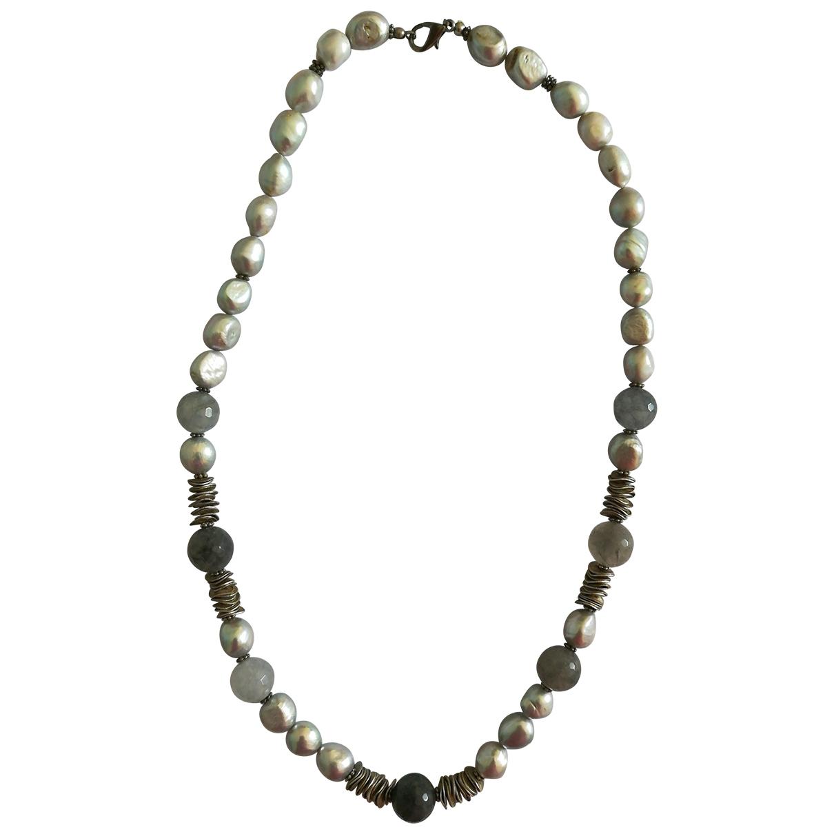 Collar Corail de Perlas Non Signe / Unsigned