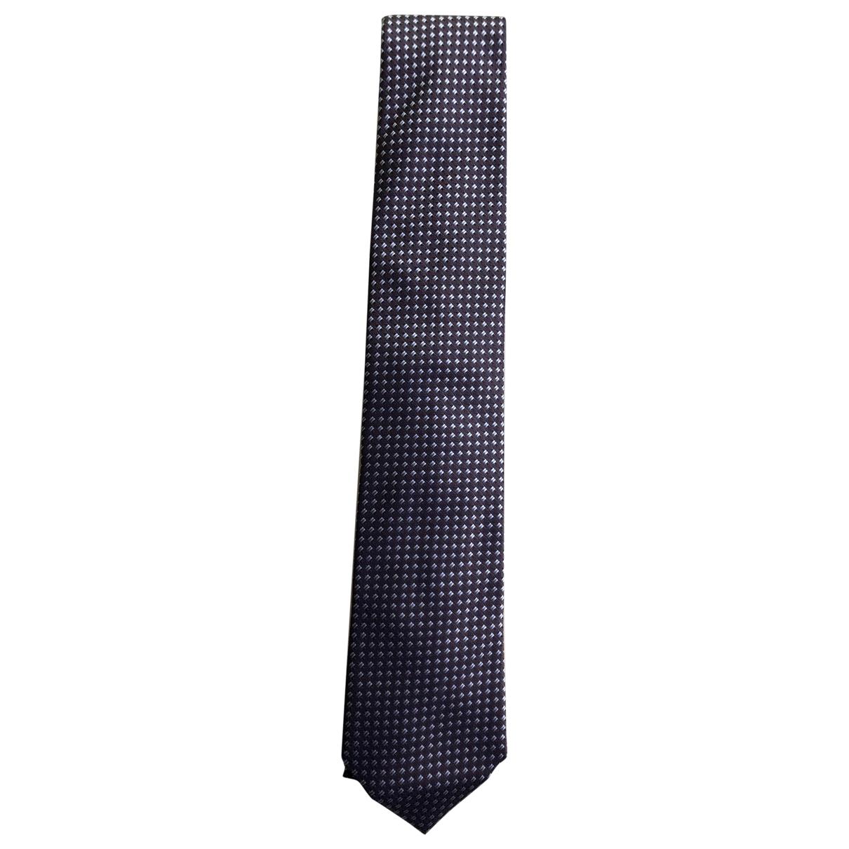 Hugo Boss \N Blue Silk Ties for Men \N