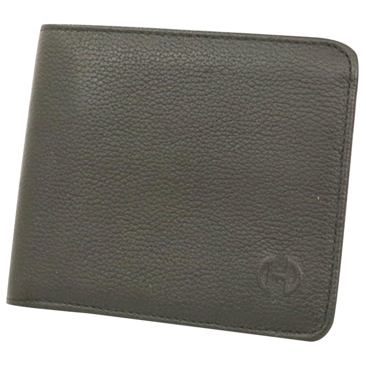 Celine N Black Leather wallet for Women N