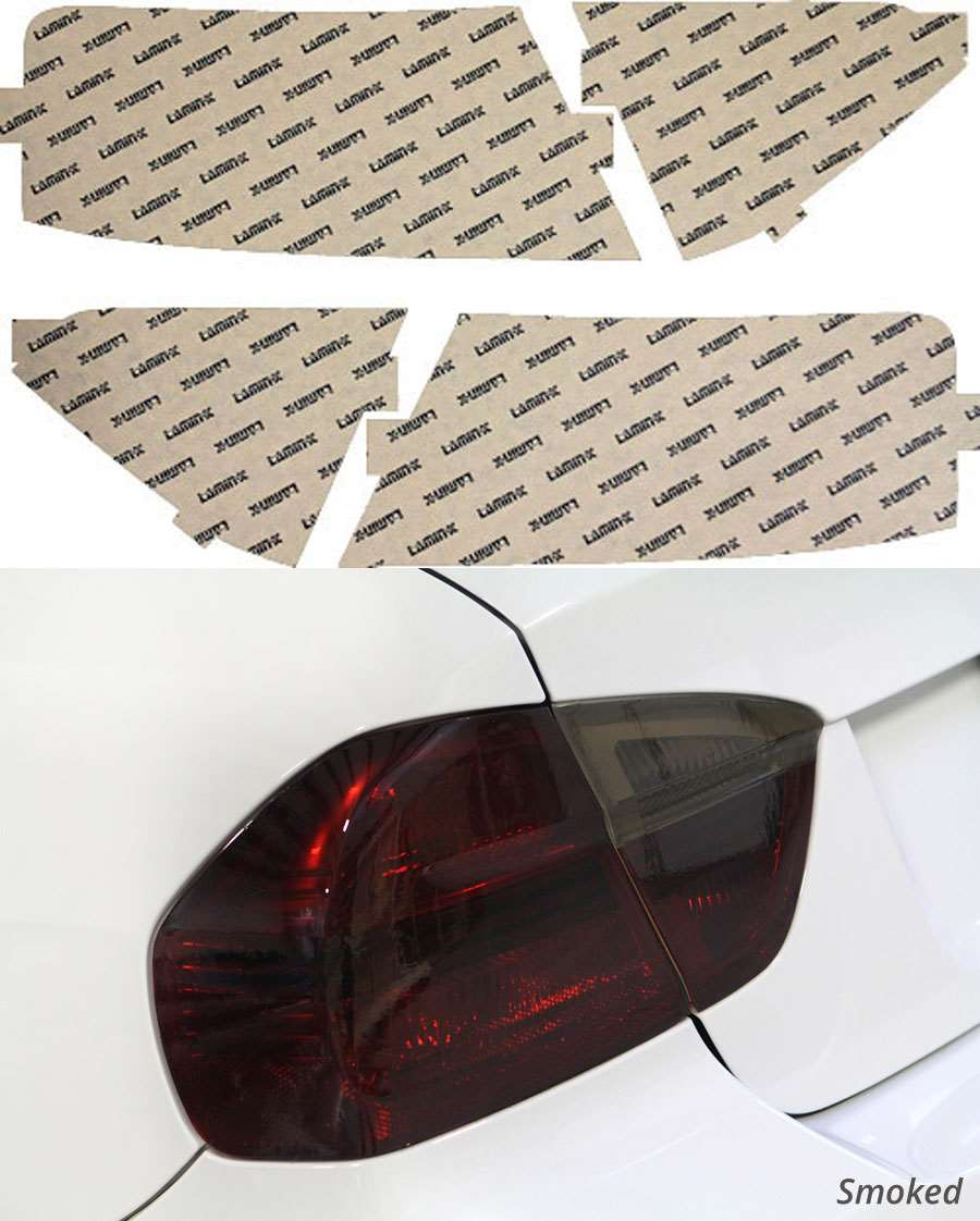 Audi S5 Cabrio 10-12 Smoked Tail Light Covers Lamin-X A223S