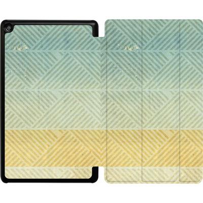 Amazon Fire HD 8 (2017) Tablet Smart Case - Triangles Artifact von Brent Williams