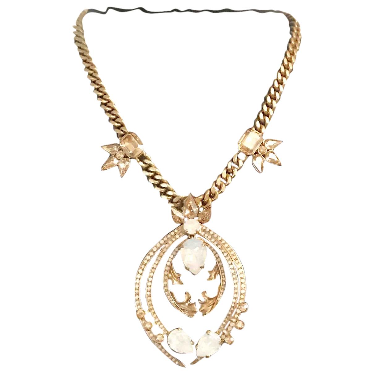 Roberto Cavalli \N Kette in  Gold Metall