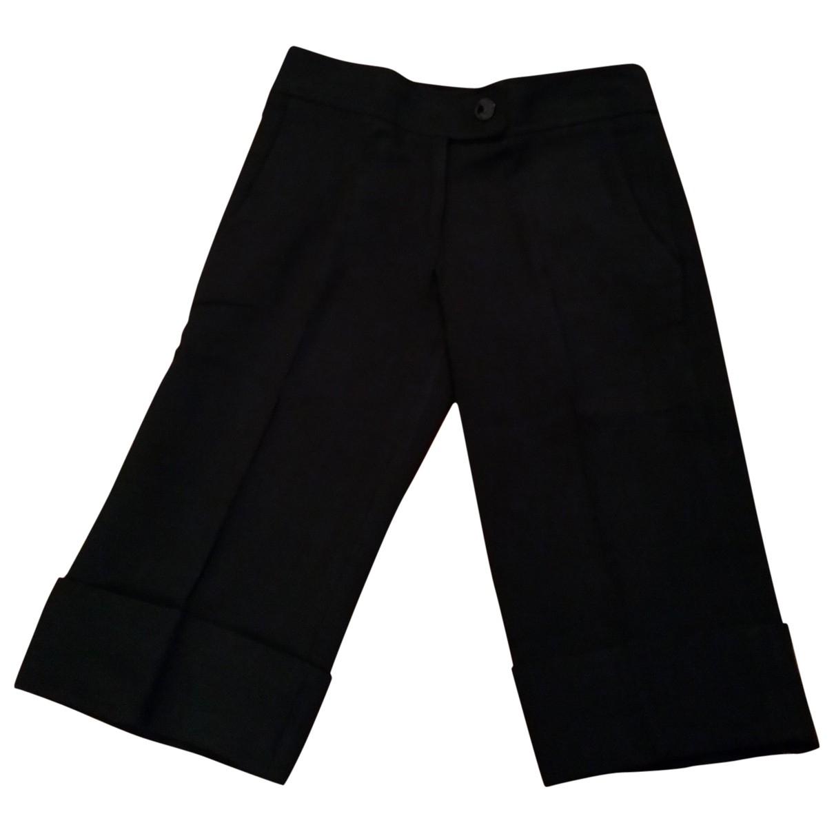 Pinko - Short   pour femme en laine - noir
