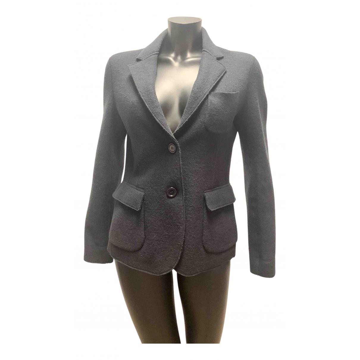 Aspesi \N Black Wool jacket for Women 44 IT