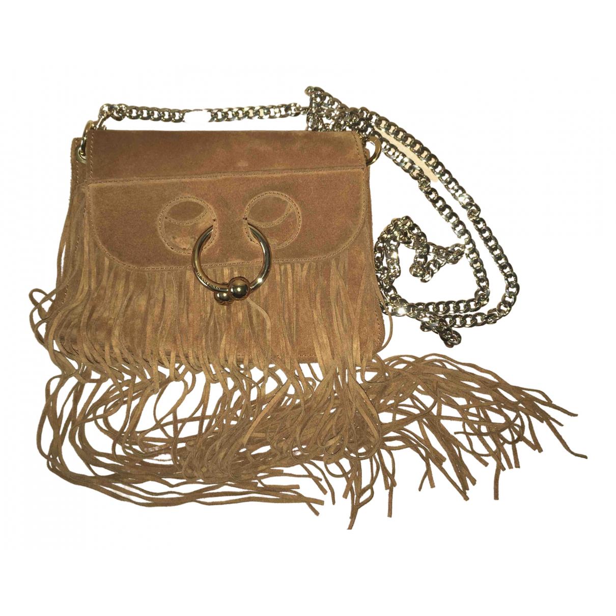 J.w. Anderson Pierce Camel Suede handbag for Women \N
