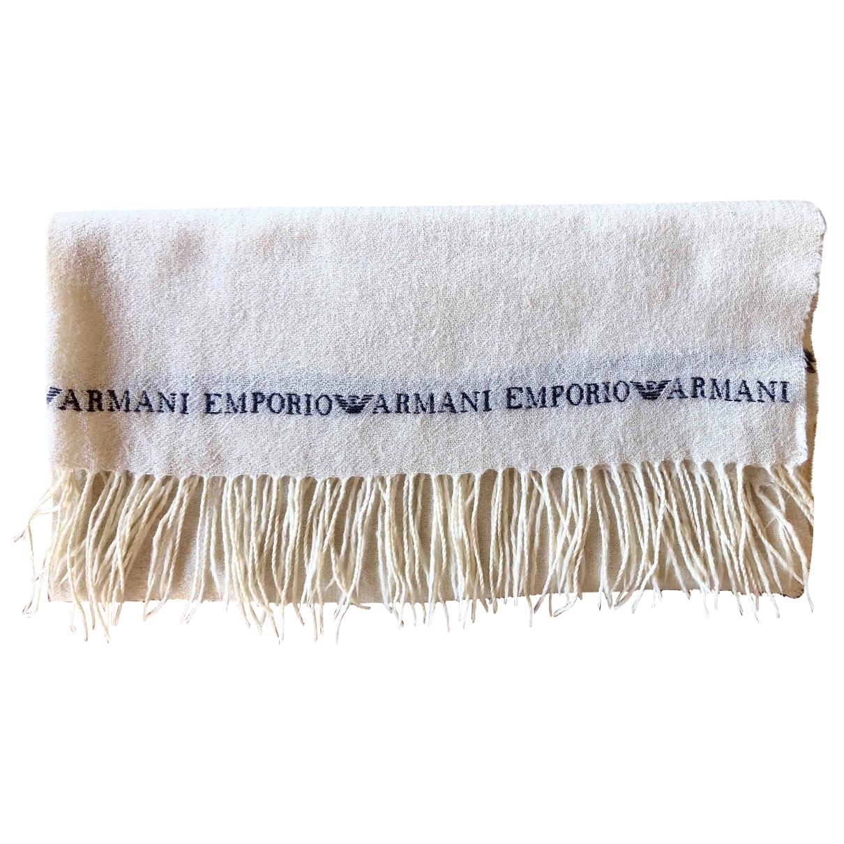 Bufanda de Lana Emporio Armani