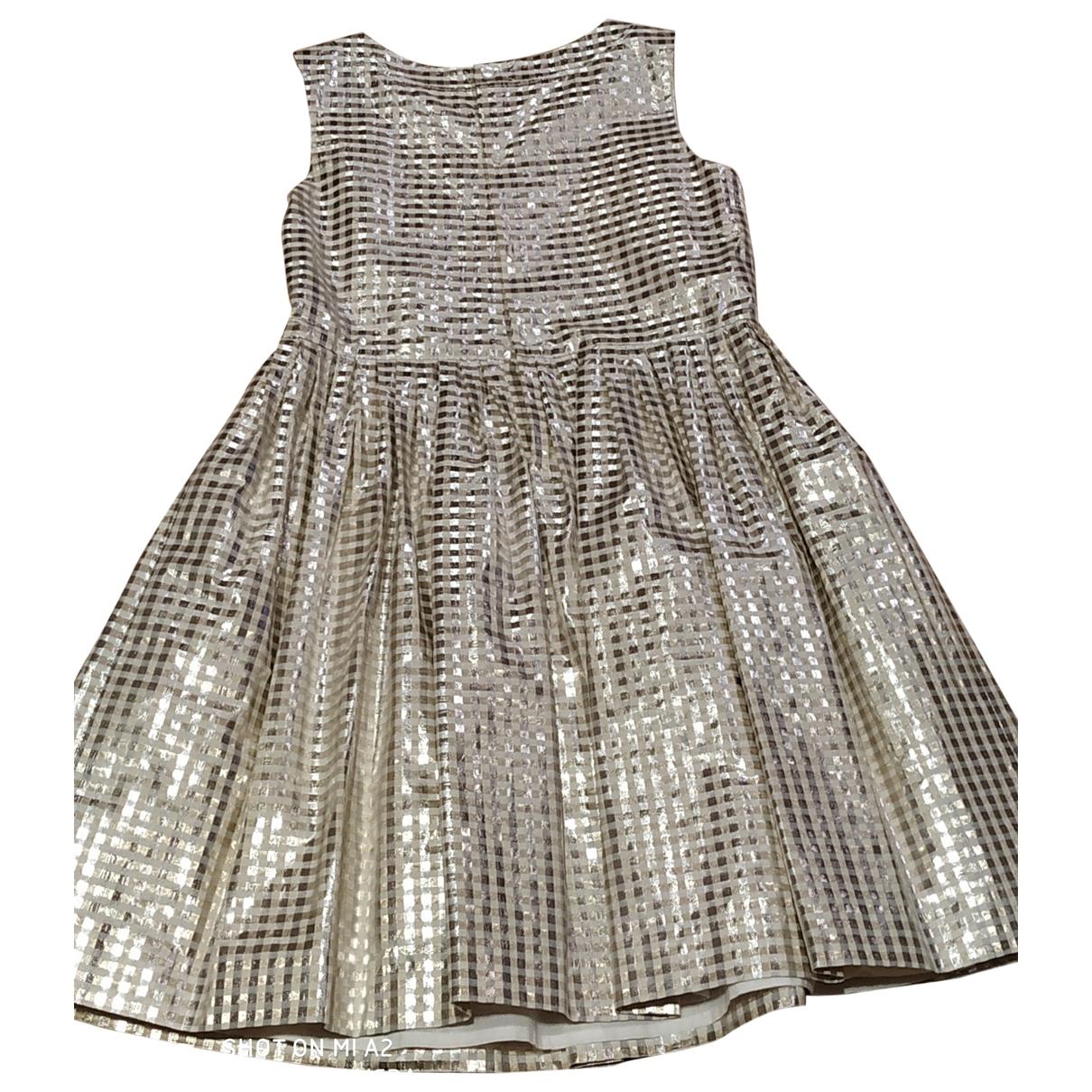 Bonpoint \N Kleid in  Gold Baumwolle