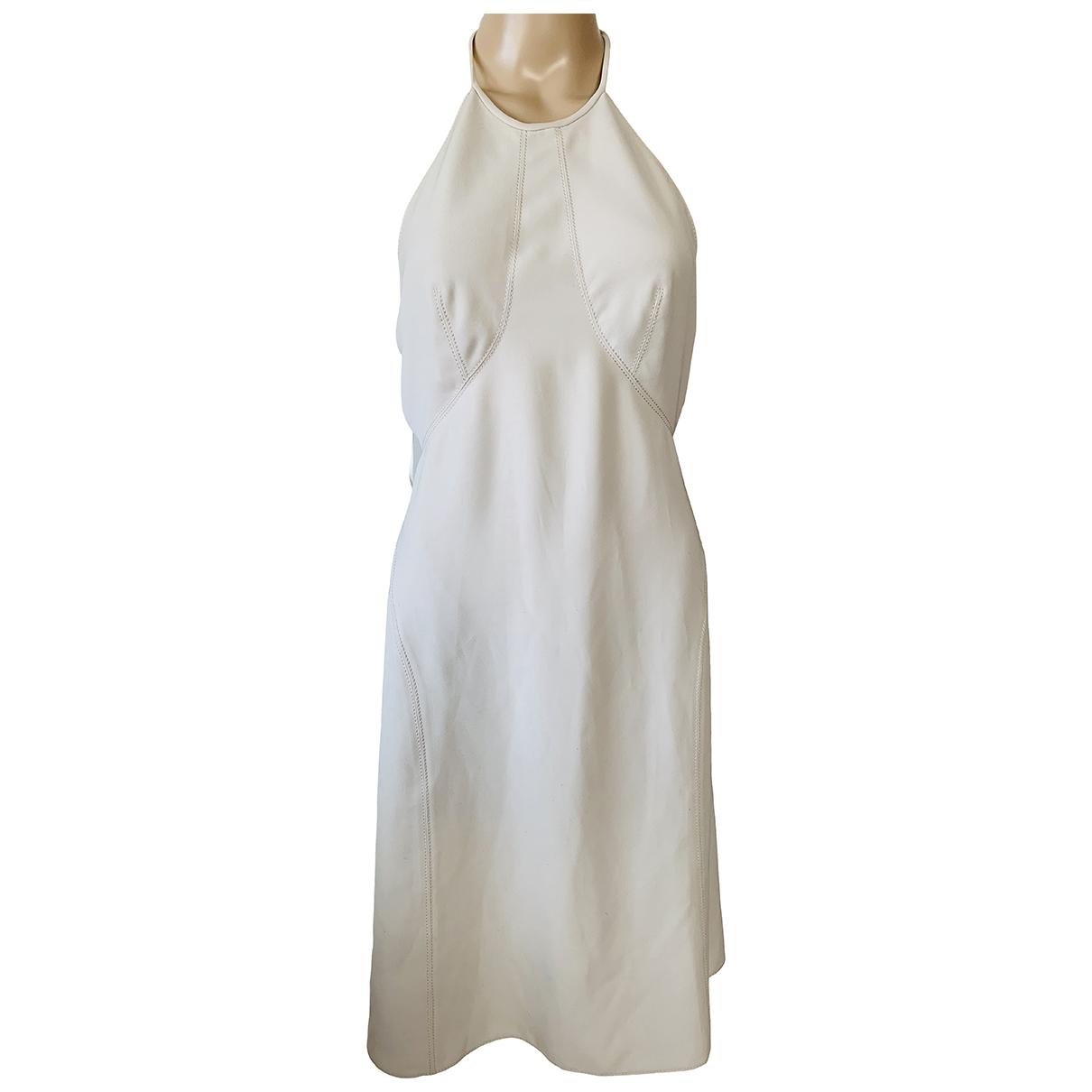 Dkny \N Kleid in  Beige Polyester