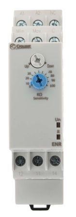 Crouzet Level Control Monitoring Relay With SPDT Contacts, 24 → 240 V ac/dc Supply Voltage