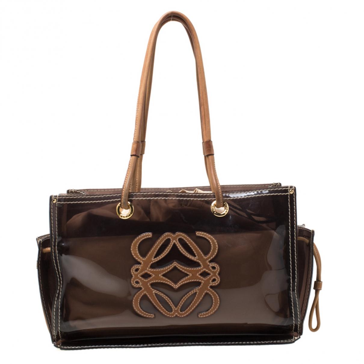 Loewe Amazona Brown Leather handbag for Women \N