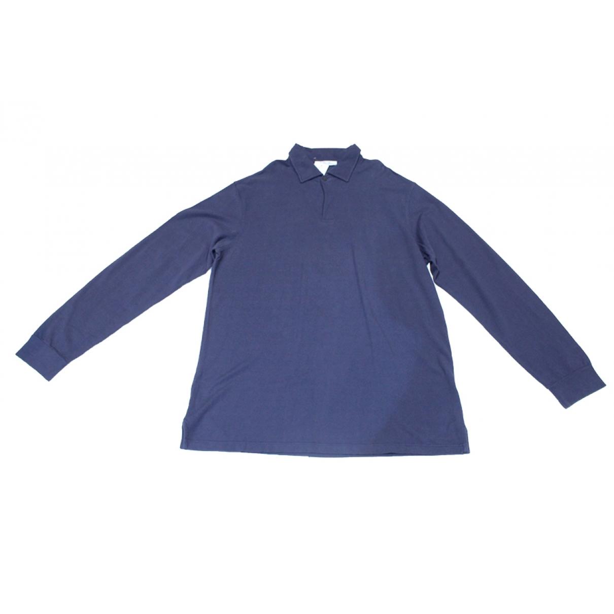 Loro Piana \N Poloshirts in  Blau Baumwolle