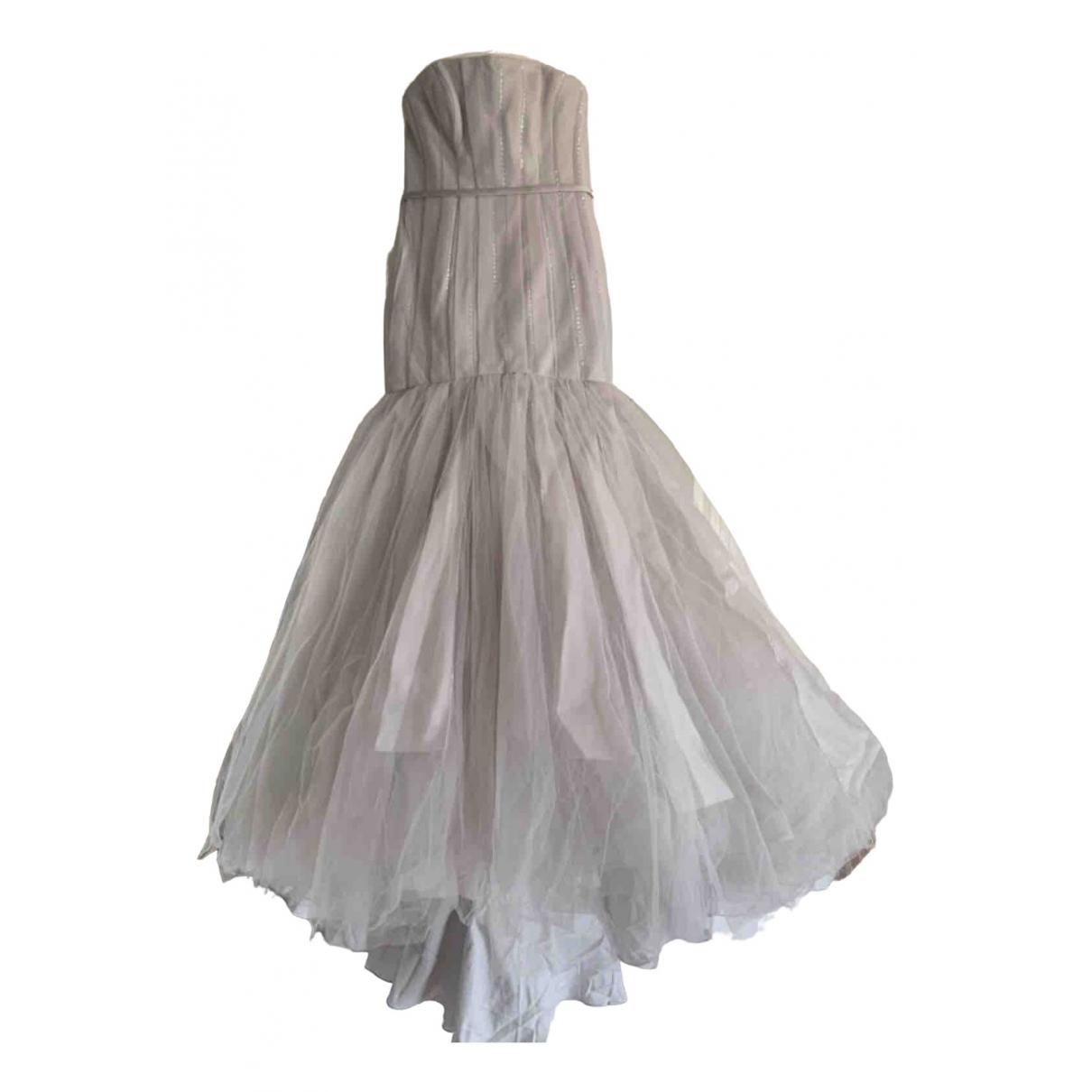 Vera Wang \N Silver dress for Women 8 US