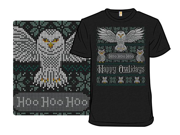 My Owliday Sweater T Shirt