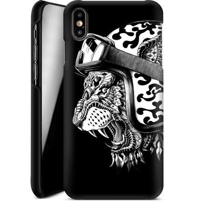 Apple iPhone XS Max Smartphone Huelle - Tiger Helm von BIOWORKZ