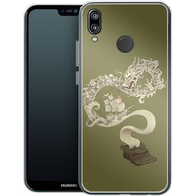 Huawei P20 Lite Silikon Handyhuelle - Unleashed Imagination von Enkel Dika