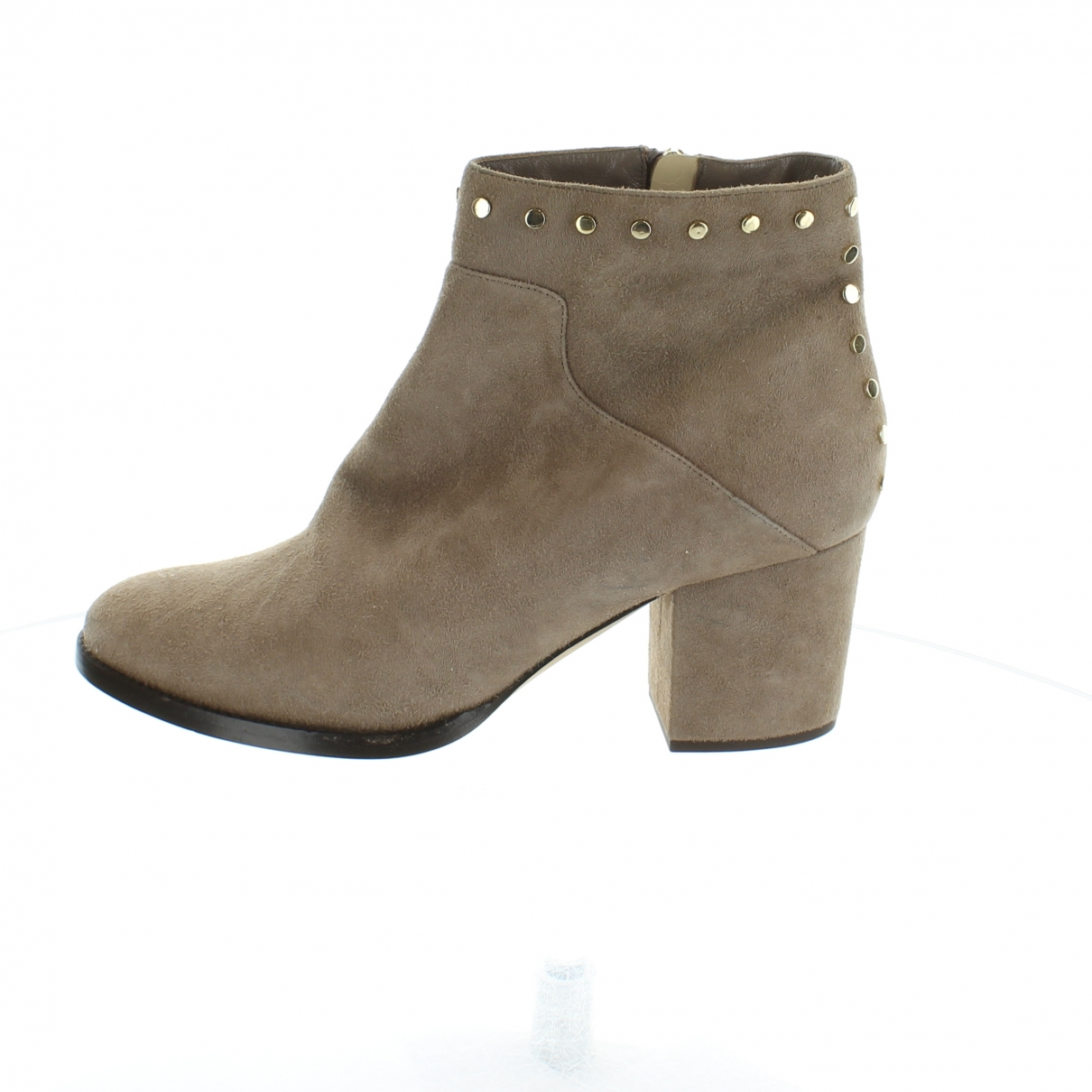 Jimmy Choo \N Brown Suede Ankle boots for Women 39 EU