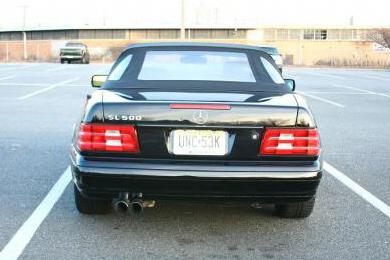 Eisenmann Stainless Axleback Exhaust 2x83mm Round Tips Mercedes-Benz SL500 96-98