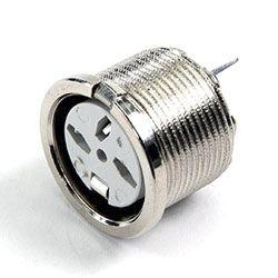 Deltron 4 Pole Din Socket Socket, DIN 41524, DIN 45322, DIN 45326, DIN 45327, DIN 45329, 2A, 34 V ac/dc, Lockable