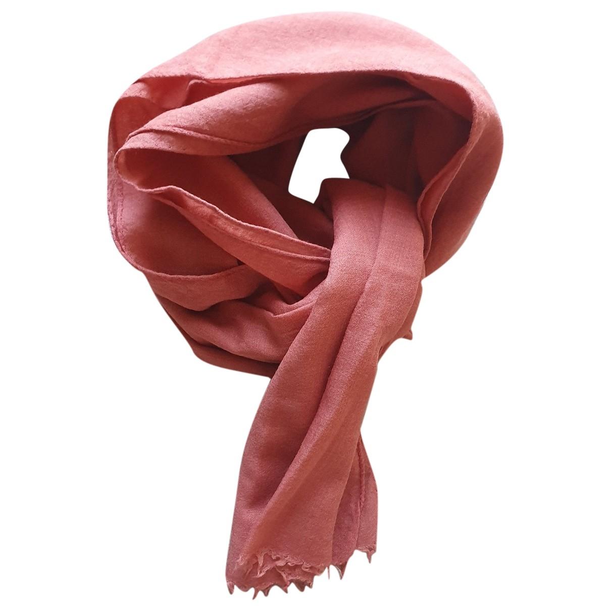 Loewe \N Orange Wool scarf for Women \N