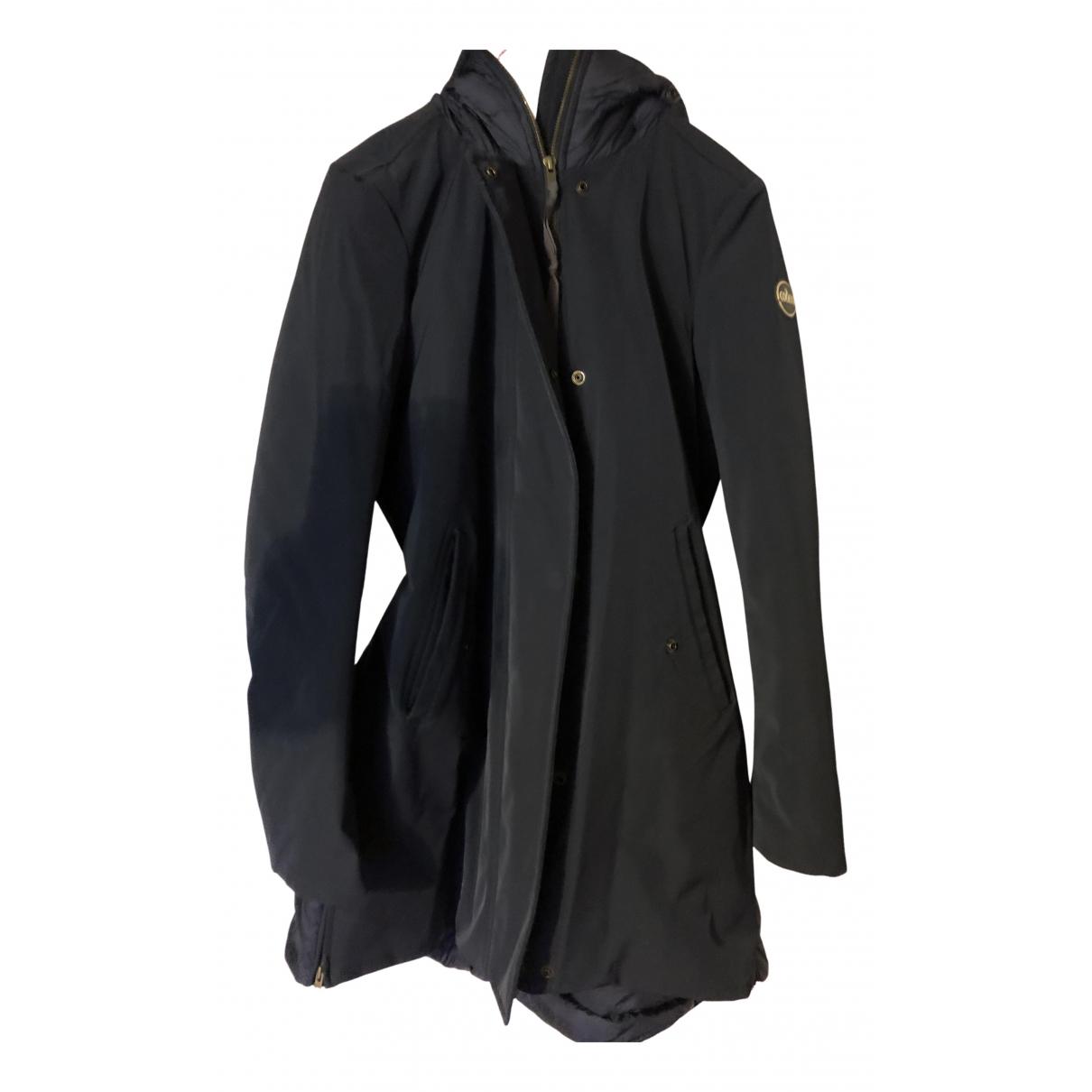Colmar N Blue Wool jacket for Women 40 IT