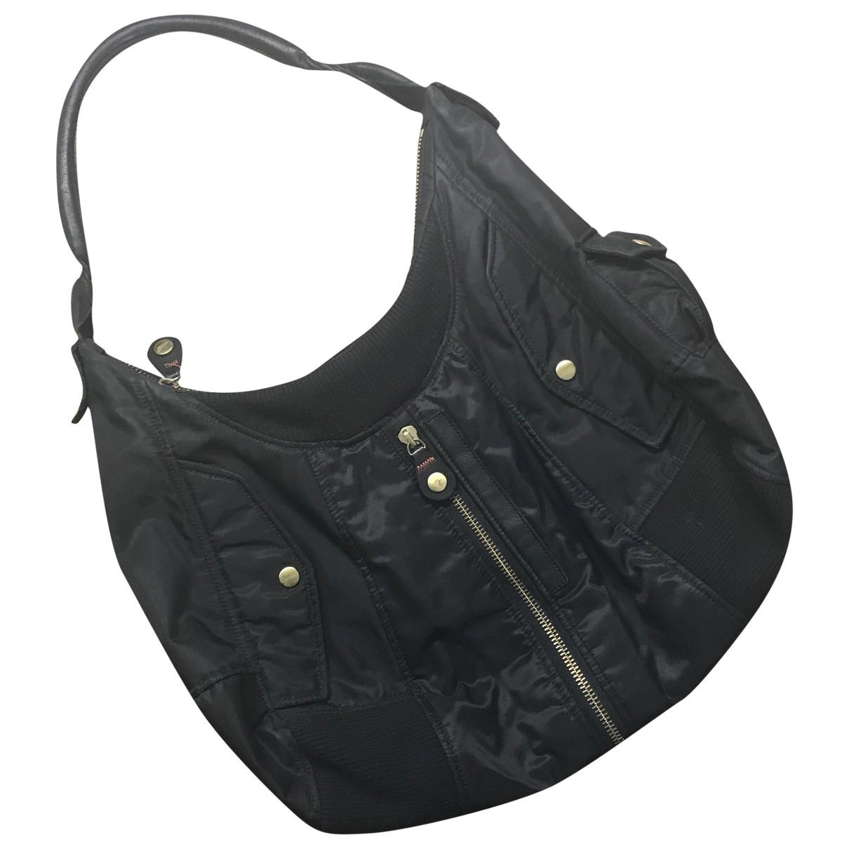 Jean Paul Gaultier \N Handtasche in  Schwarz Leinen