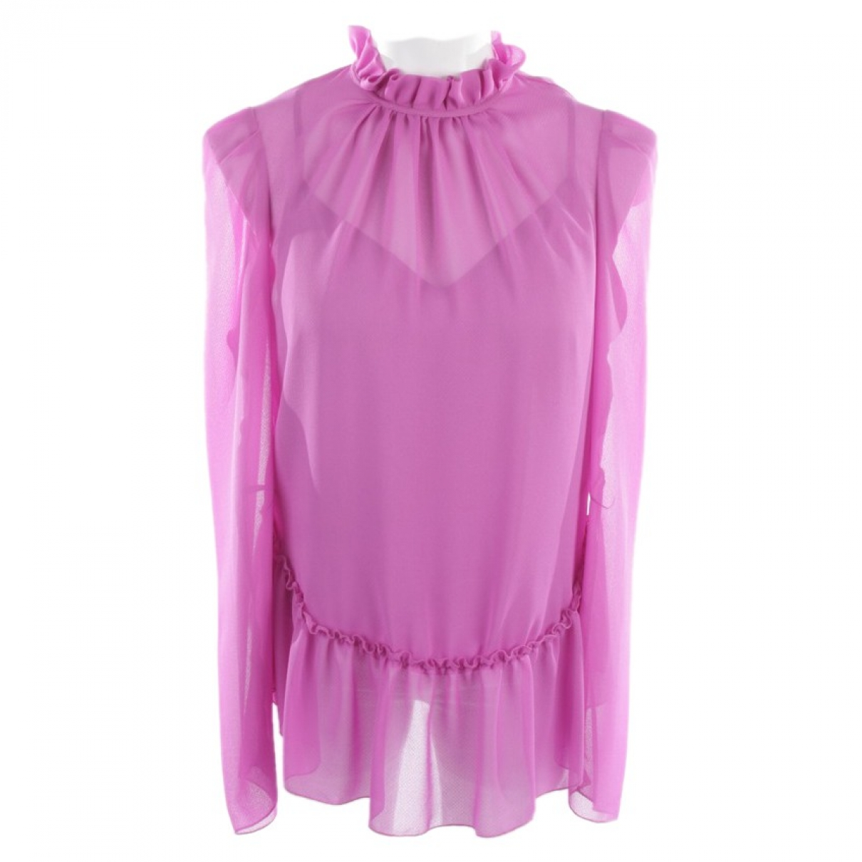 See By Chloé \N Purple Leather  top for Women 36 FR