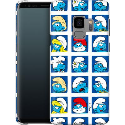 Samsung Galaxy S9 Smartphone Huelle - Smurf Squares von The Smurfs