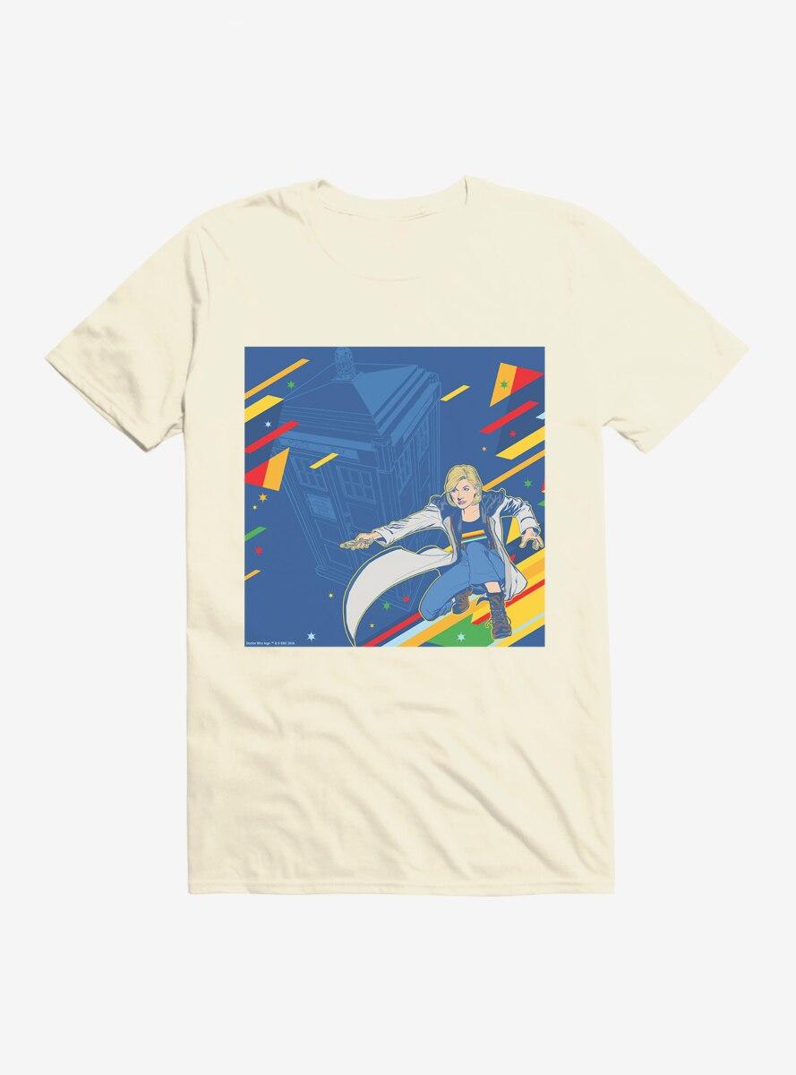 Doctor Who The Thirteenth Doctor Retro Art T-Shirt
