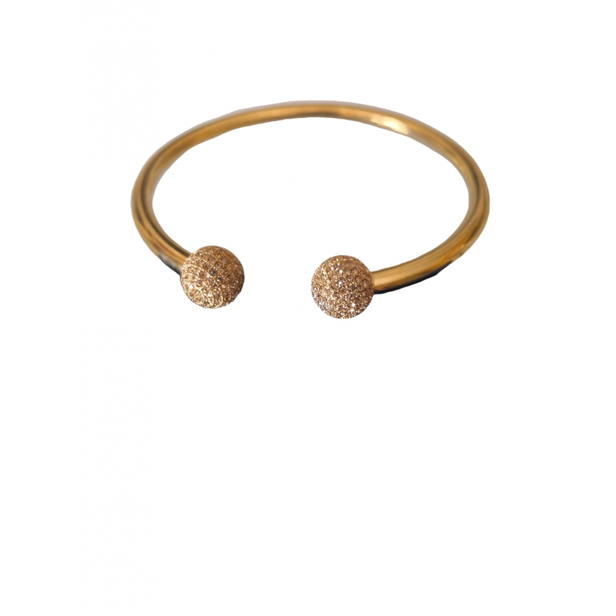 Non Signe / Unsigned \N Armband in  Gold Stahl