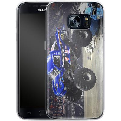 Samsung Galaxy S7 Silikon Handyhuelle - Firestone von Bigfoot 4x4