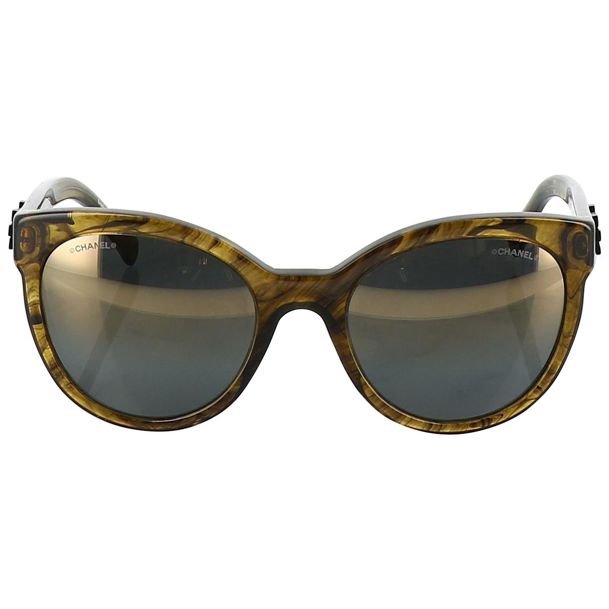 Chanel \N Gold Sunglasses for Women \N
