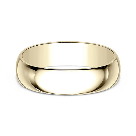 7MM 10K Gold Wedding Band, 10 1/2 , No Color Family