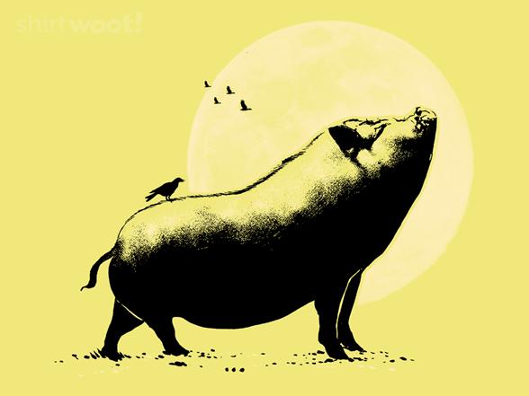 Barking Pig T Shirt