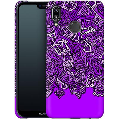 Huawei P20 Lite Smartphone Huelle - Violet Black von Mattartiste
