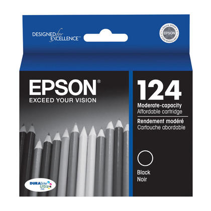 Epson T124120 Original Black Ink Cartridge