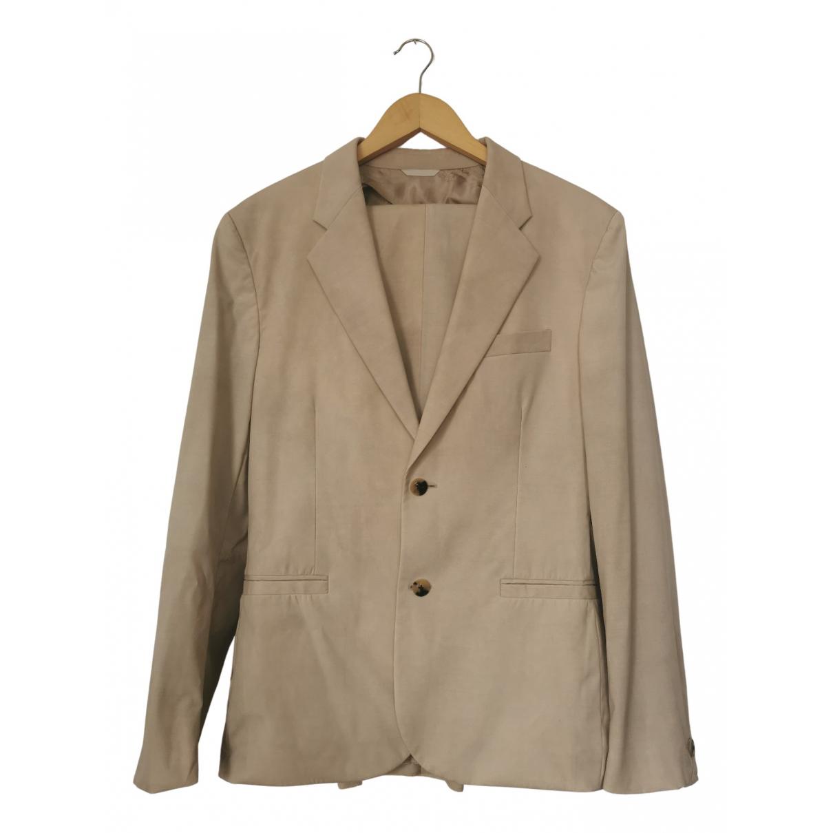 Versace \N Anzuege in  Beige Wolle