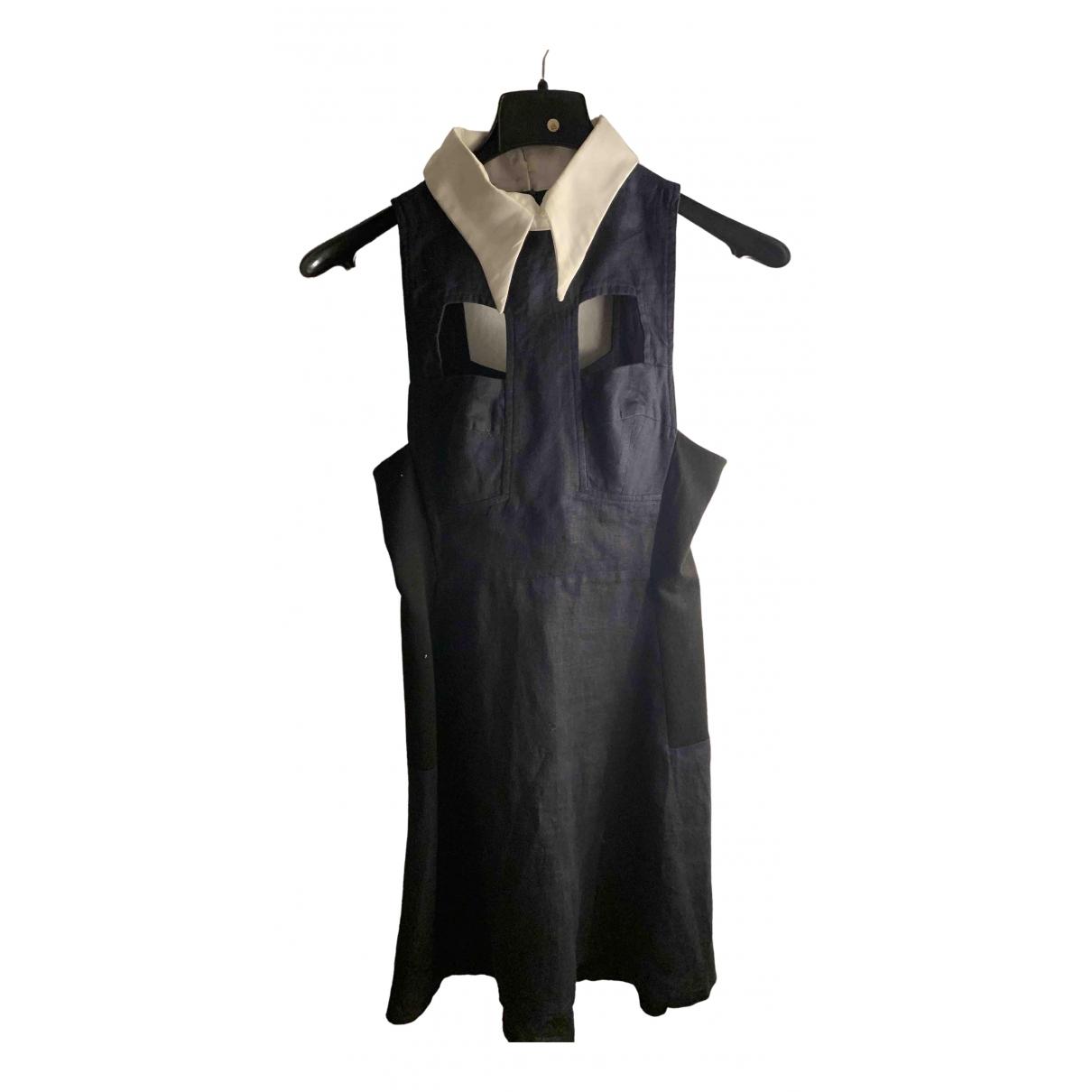 Vivetta \N Kleid in  Blau Leinen