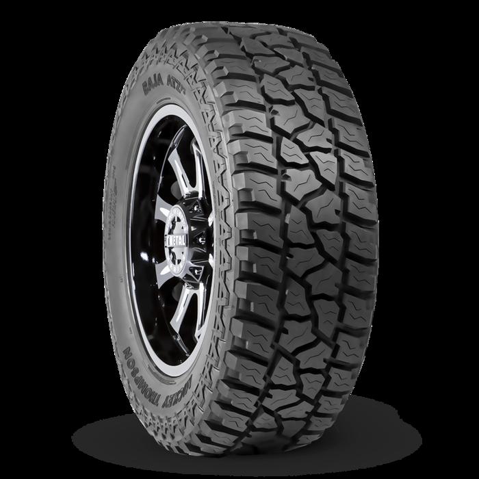 Baja ATZ P3 Hybrid All Terrain Tire LT265/70R17 17.0 Inch Rim Dia 31.9 Inch OD Mickey Thompson 90000001917