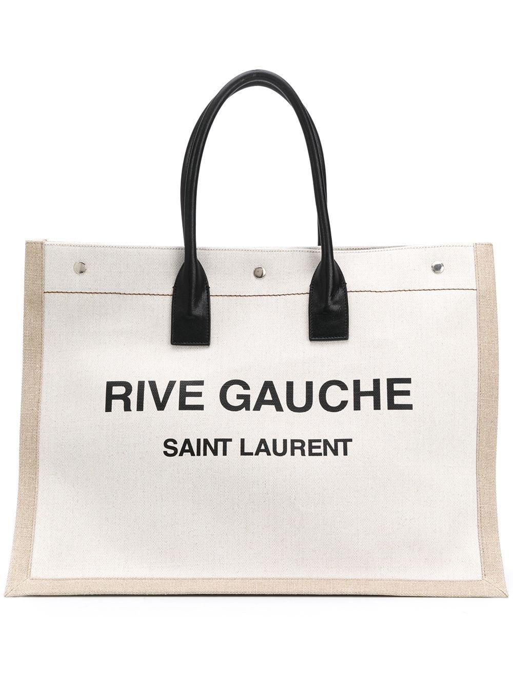 Rive Gauche Linen Bag