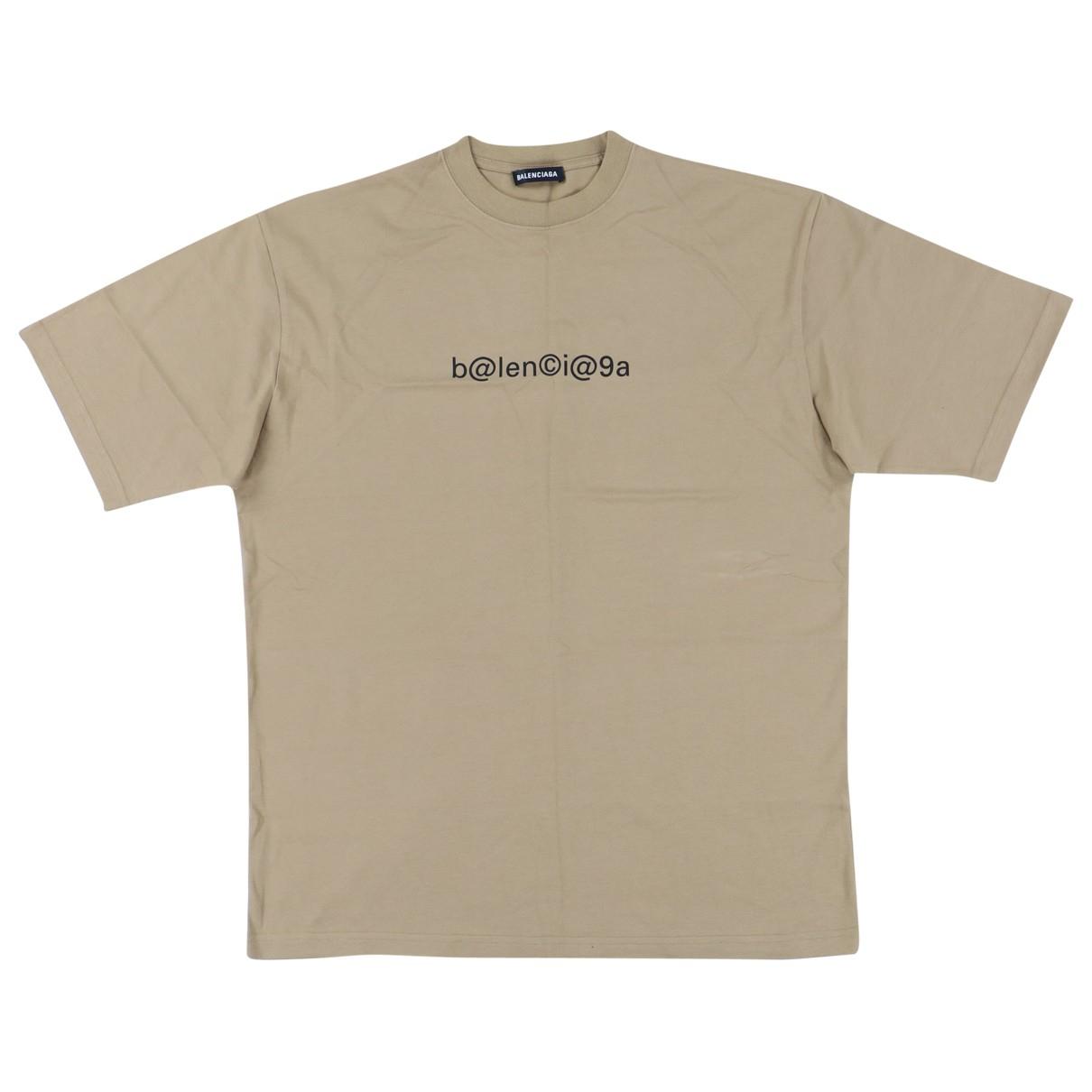 Balenciaga \N T-Shirts in  Braun Baumwolle